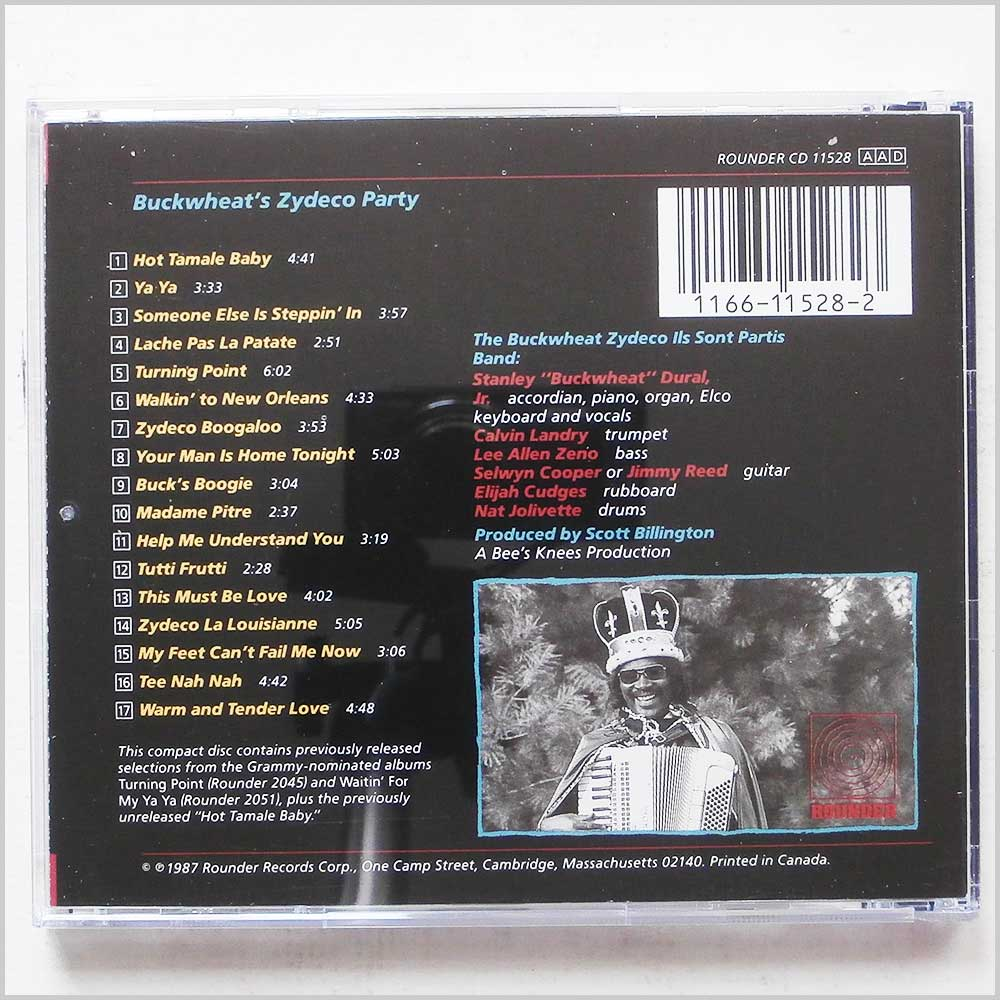 Buckwheat Zydeco - Buckwheat Zydeco's Party (11661152823)
