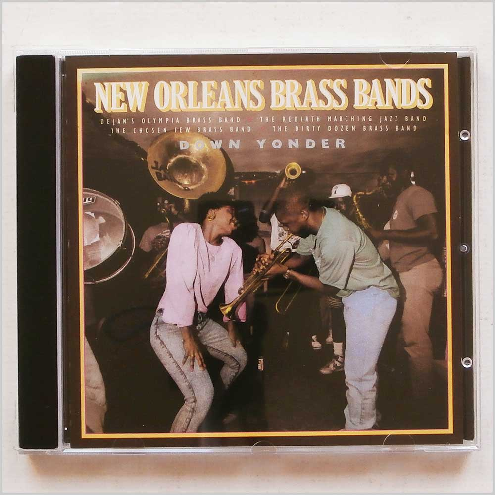 Various - Down Yonder: New Orleans Brass Bands (11661156227)