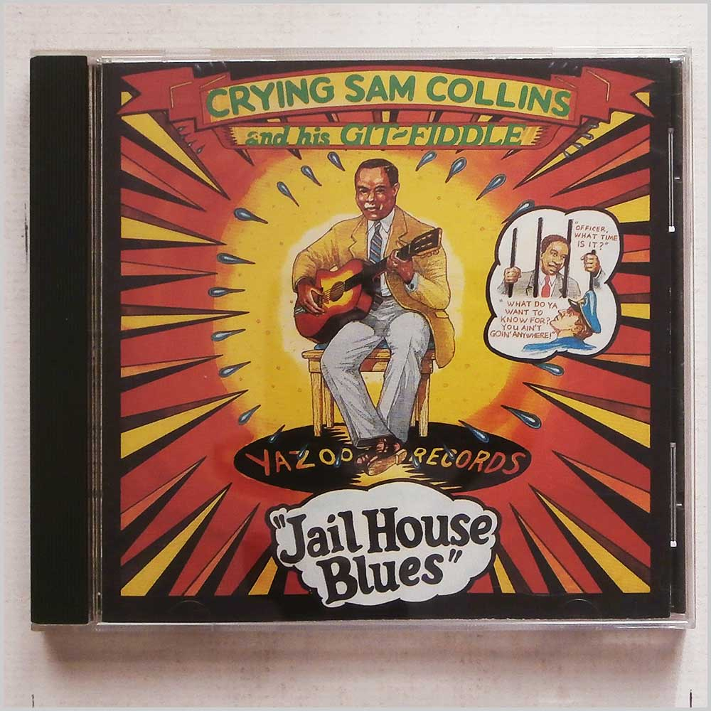 Crying Sam Collins and his Git-Fiddle - Jail House Blues (16351017925)