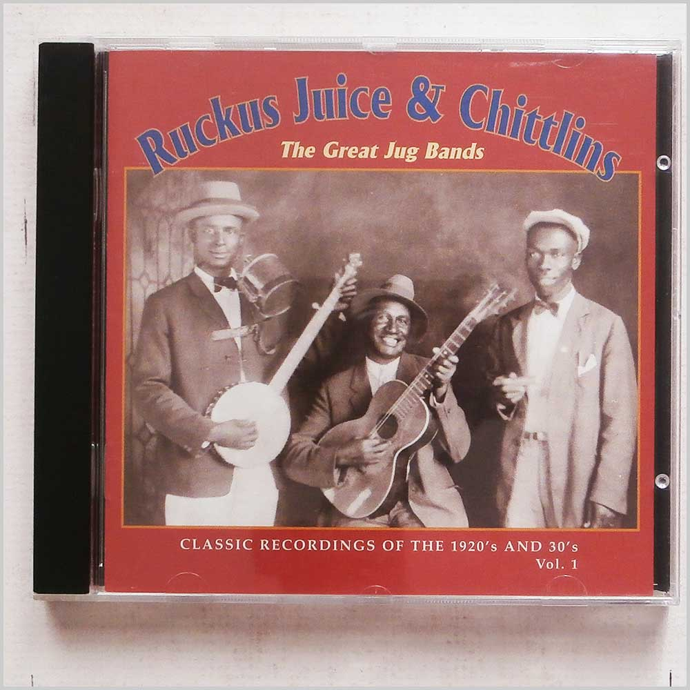 Various - Ruckus Juice and Chittlins: The Great Jug Bands Vol. 1 (16351203229)
