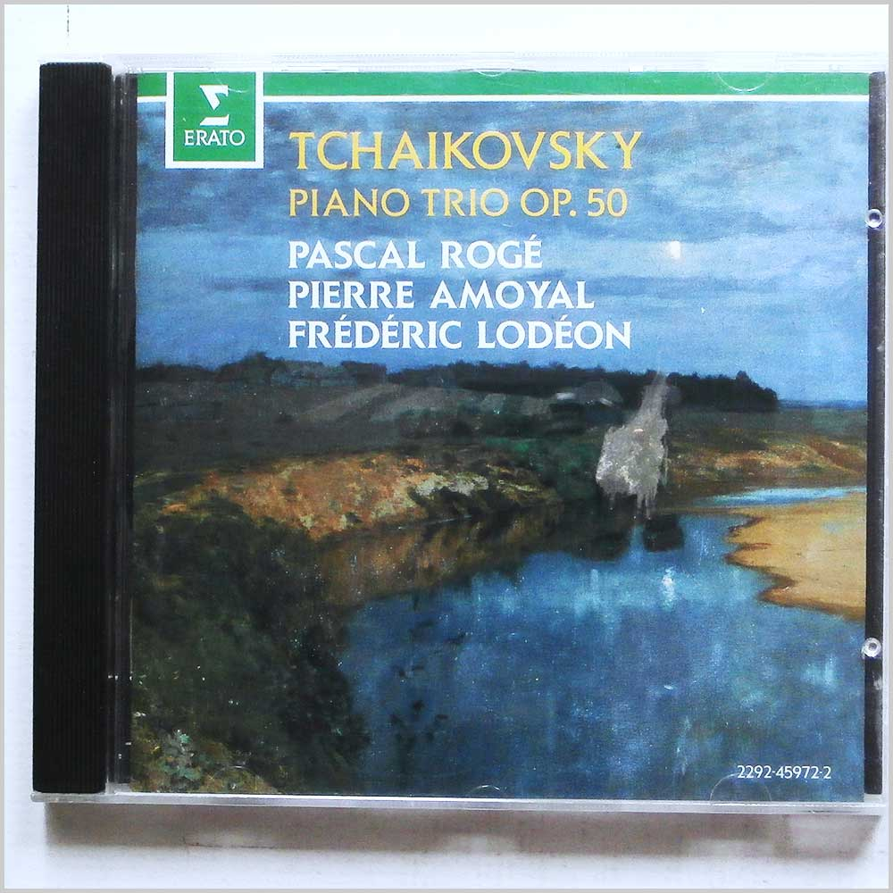 Pascal Roge, Pierre Amoyal, Frederic Lodeon - Tchaikovsky: Piano Trio (22924597220)