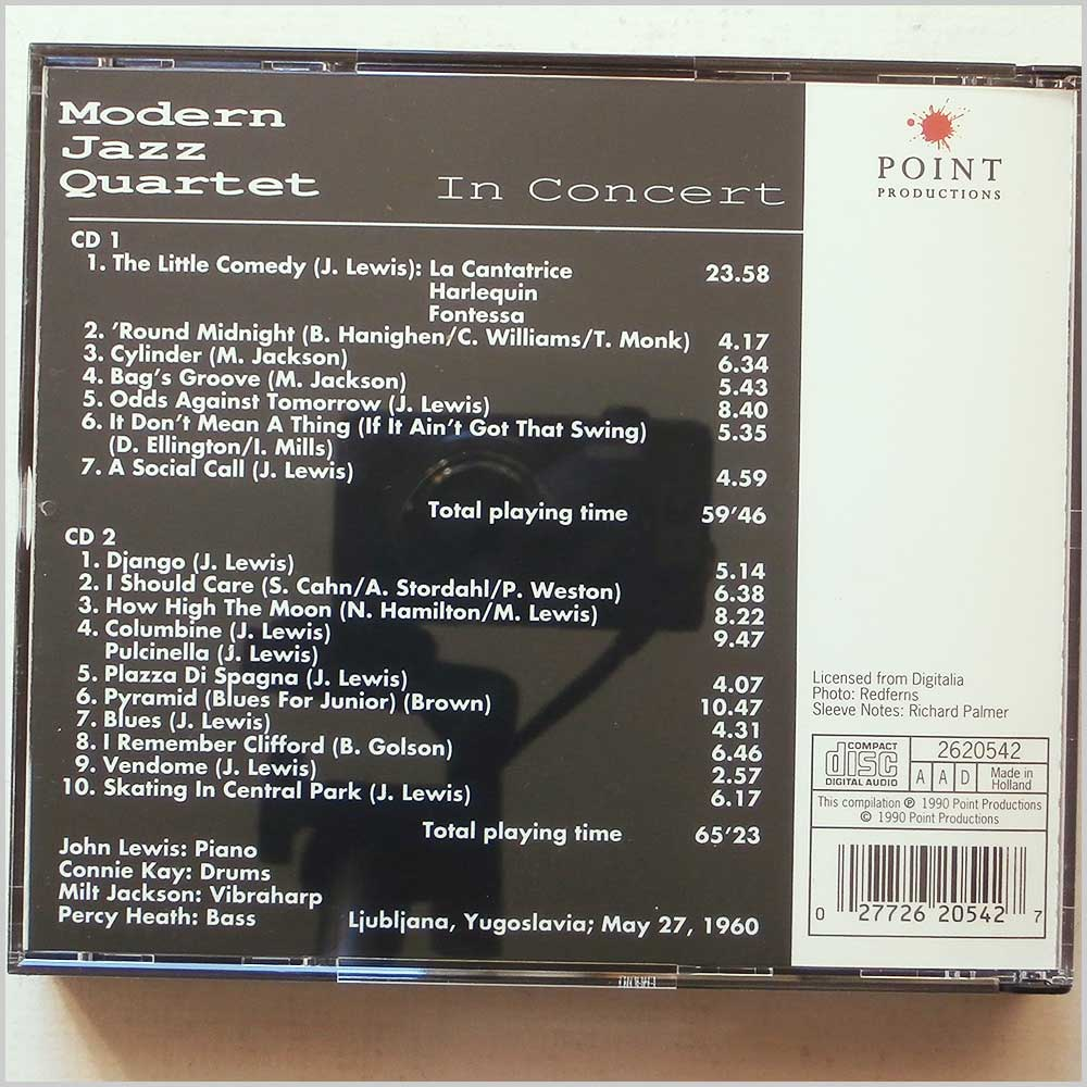 Modern Jazz Quartet - Modern Jazz Quartet In Concert (27726205427)