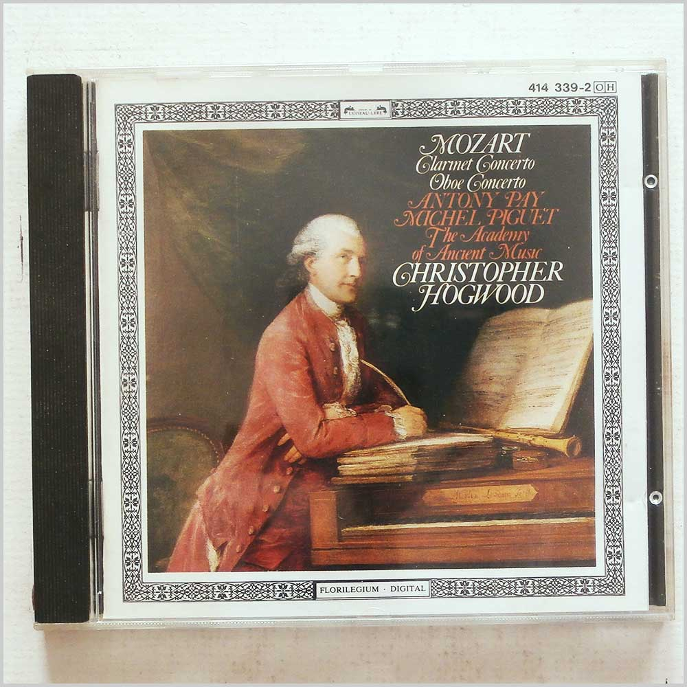 Christopher Hogwood, The Academy of Ancient Music - Mozart: Clarinet Concerto, Oboe Concerto (28941433923)