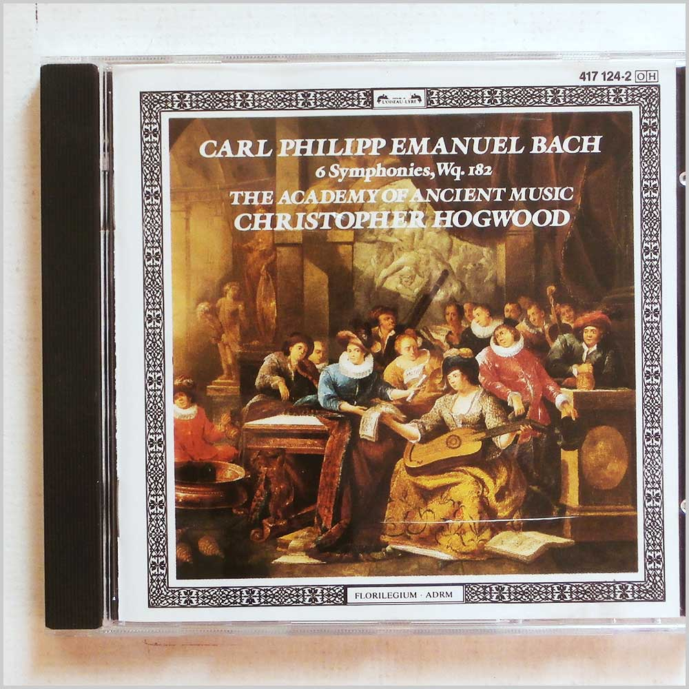 Christopher Hogwood, The Academy of Ancient Music - Carl Philipp Emanuel Bach: 6 Symphonies (28941712424)