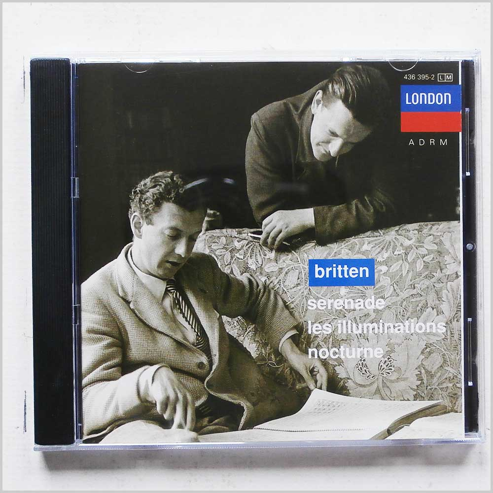 Peter Pears, Barry Tuckwell - Britten: Serenade, Les Illuminations, Nocturne (28943639521)