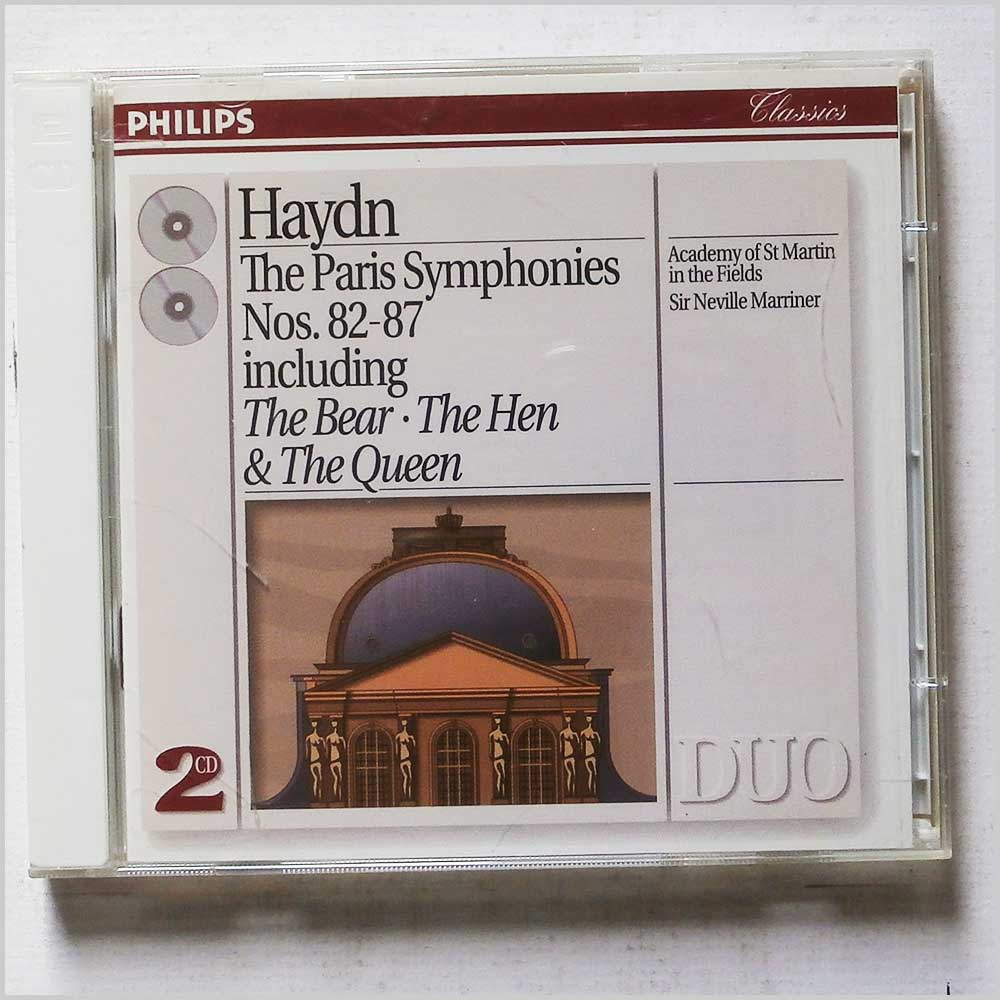 Neville Marriner, Academy of St Martin in the Fields - Haydn: The Paris Symphonies Nos. 82-87, including The Bear, The Hen and The Queen (28943872720)