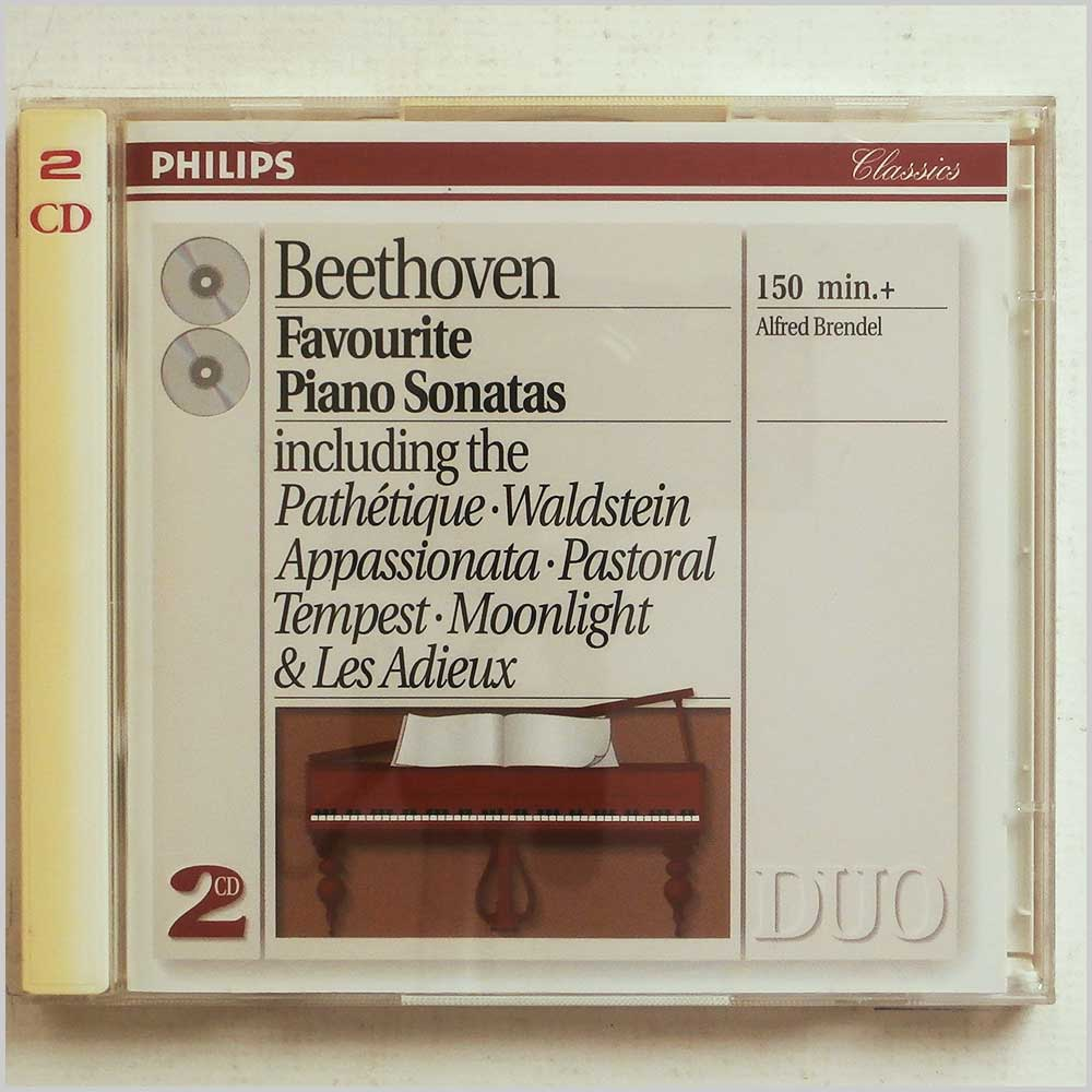 Alfred Brendel - Beethoven: Favourite Piano Sonatas (28943873024)