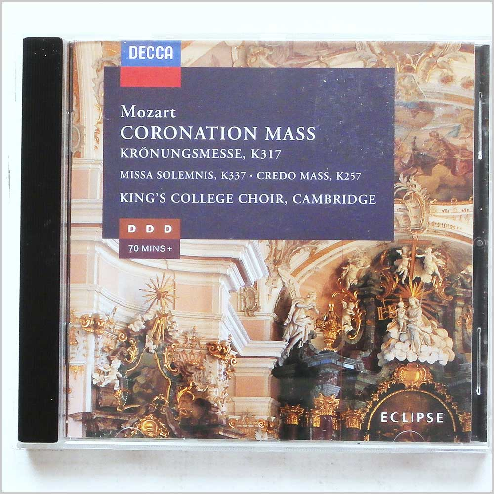 King's College Choir, Cambridge - Mozart: Coronation Mass (28944822823)