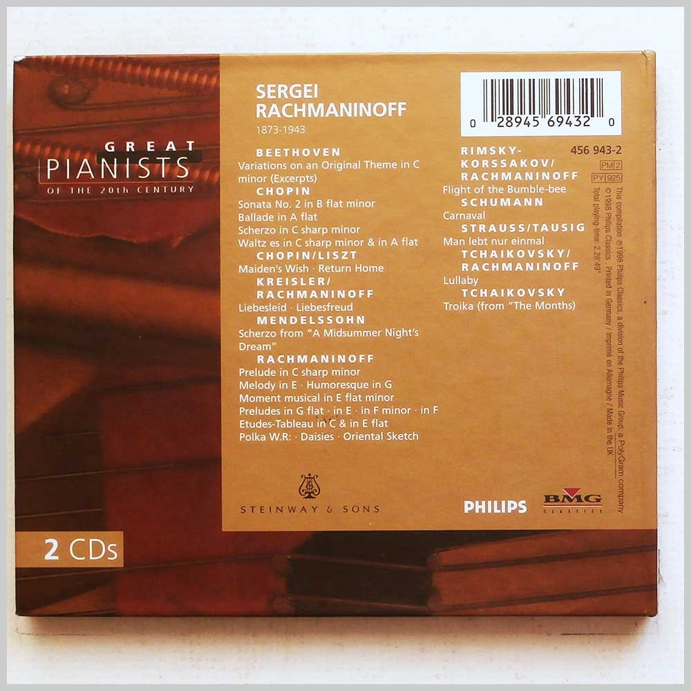 Sergei Rachmaninoff - Great Pianists of the 20th Century: Sergei Rachmaninoff (28945694320)