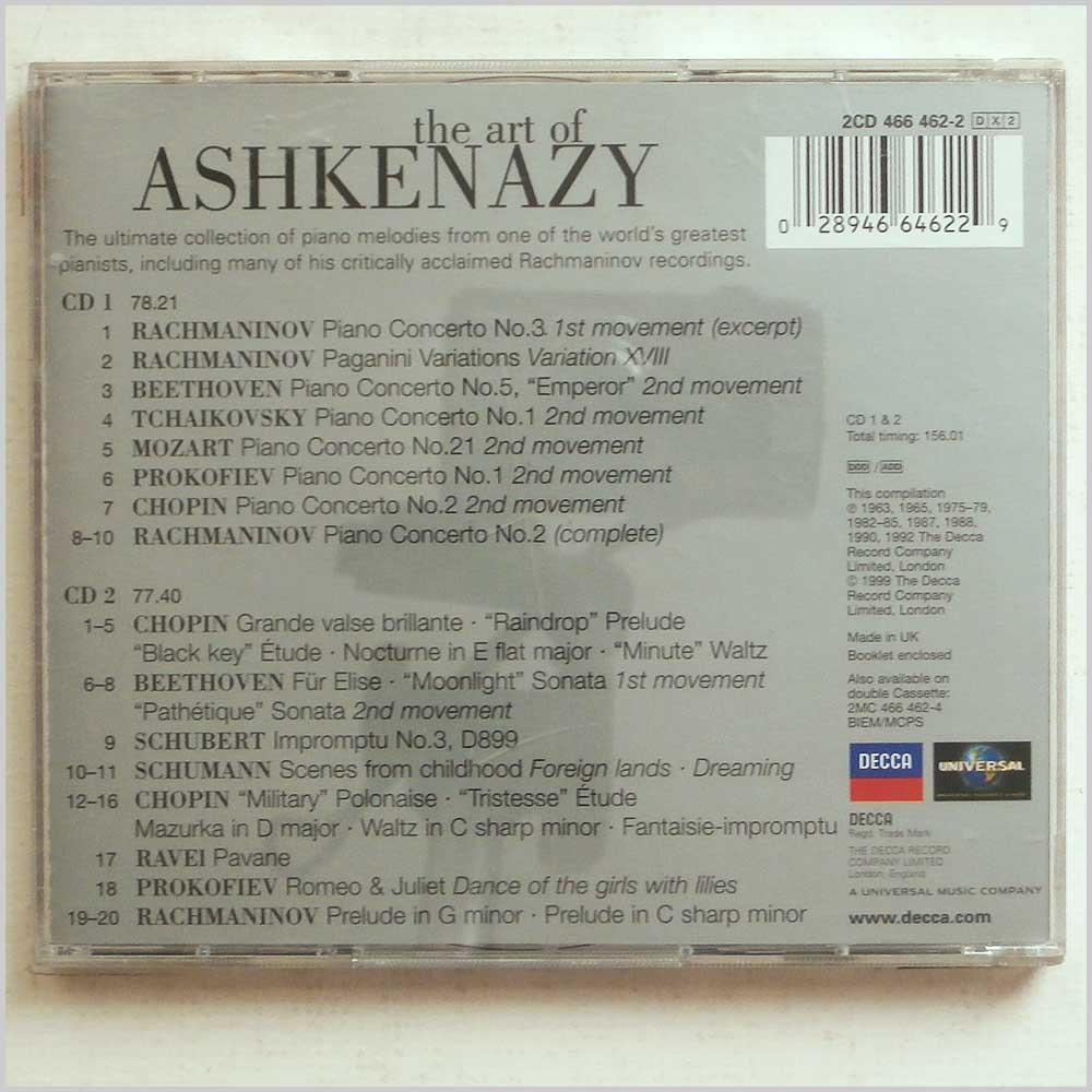 Vladimir Ashkenazy - The Art of Ashkenazy: A Sublime Collection of his Greatest Piano Recordings (28946646229)