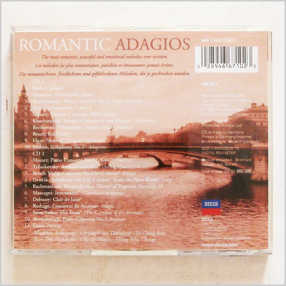 Various - Romantic Adagios (28946671023)