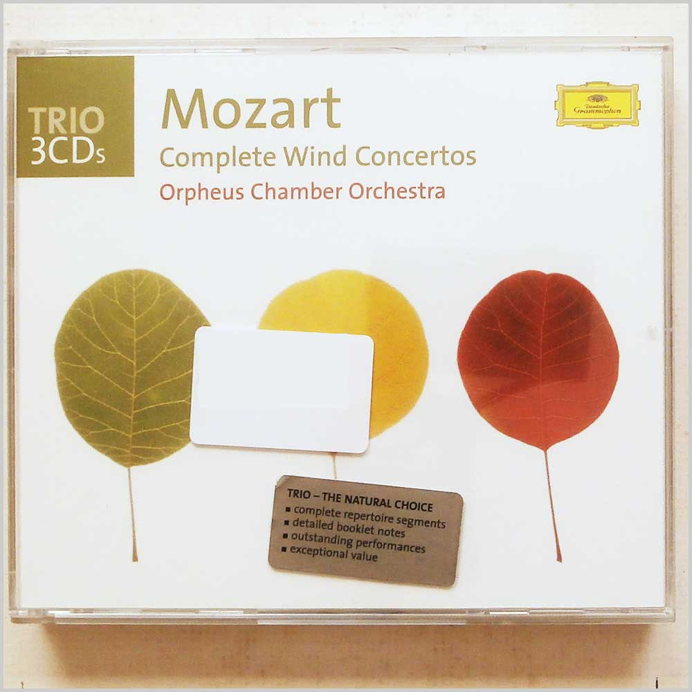 Orpheus Chamber Orchestra - Mozart: Complete Wind Concertos (28946936221)