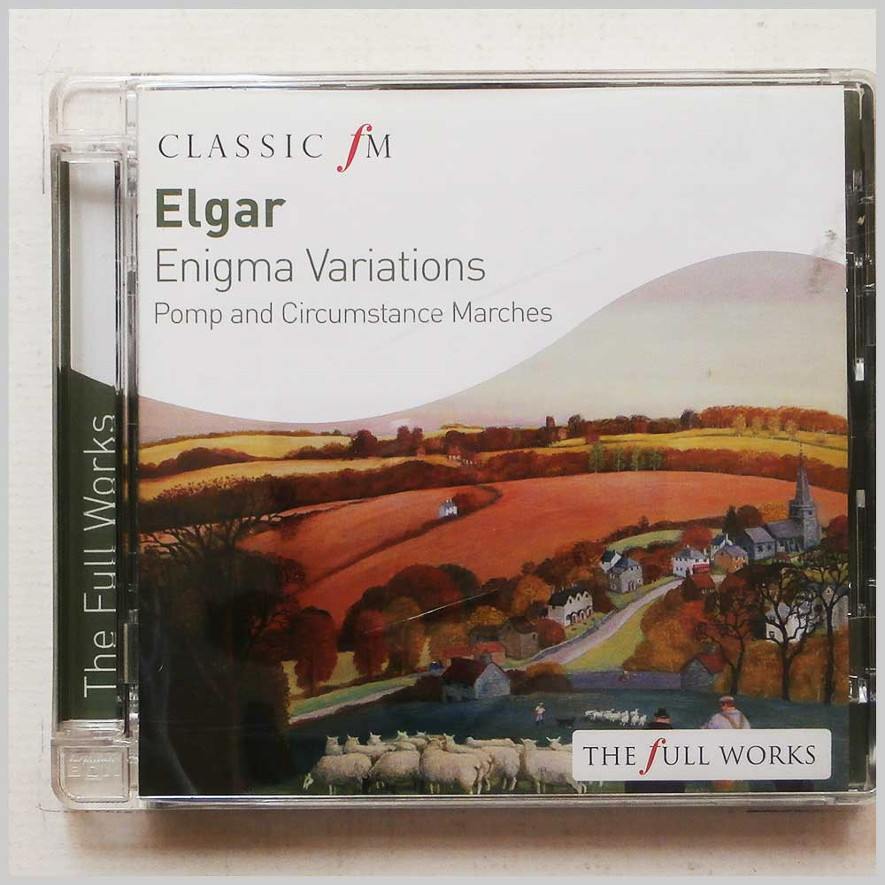 Sir Charles Mackerras, Royal Philharmonic Orchestra - Elgar: Enigma Variations, Pomp and Circumstance Marches (28947665373)