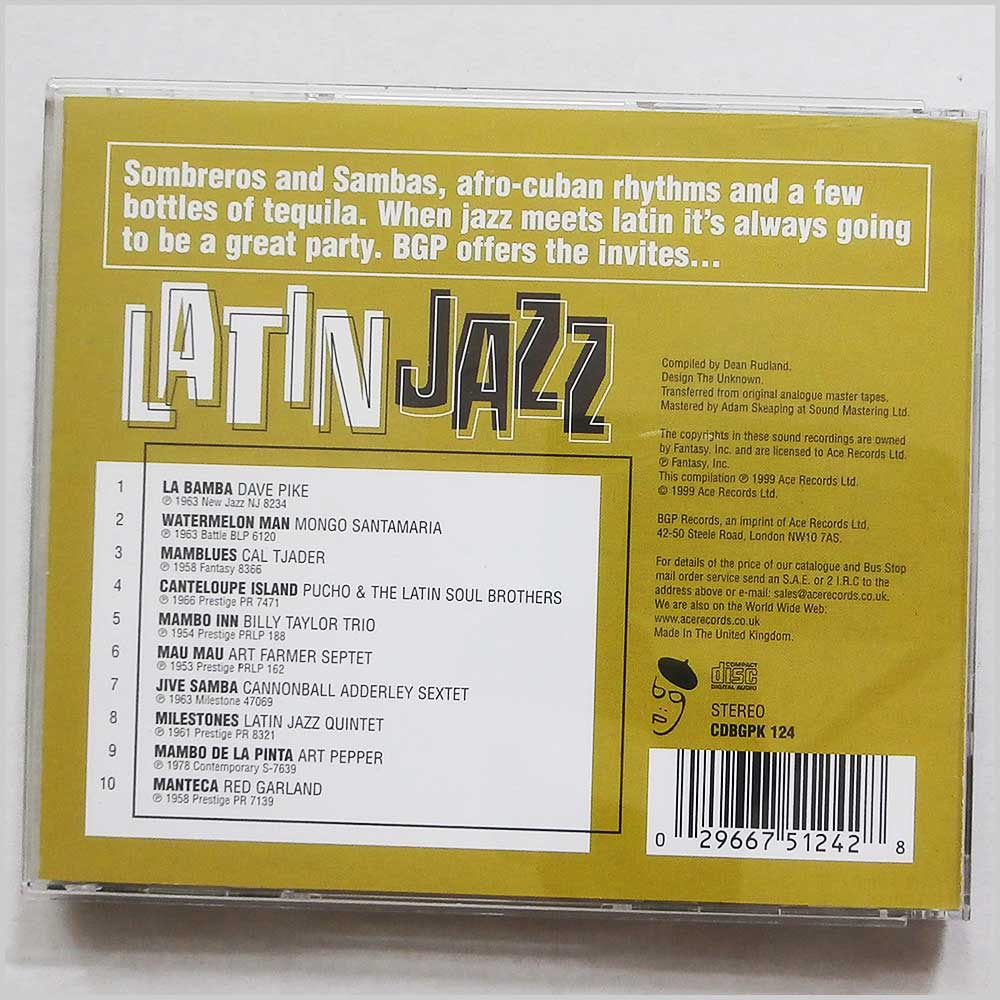 Various - The Best of Latin Jazz (29667512428)