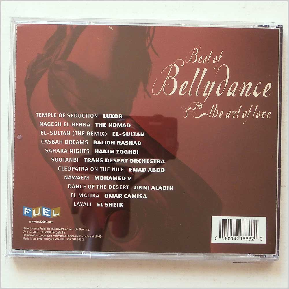 Various - Best of Belly Dance: The Art of Love (30206166620)