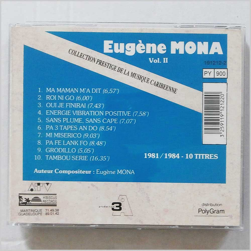 Eugene Mona - Collection Prestige De La Musique Caribeene (3259119121220)