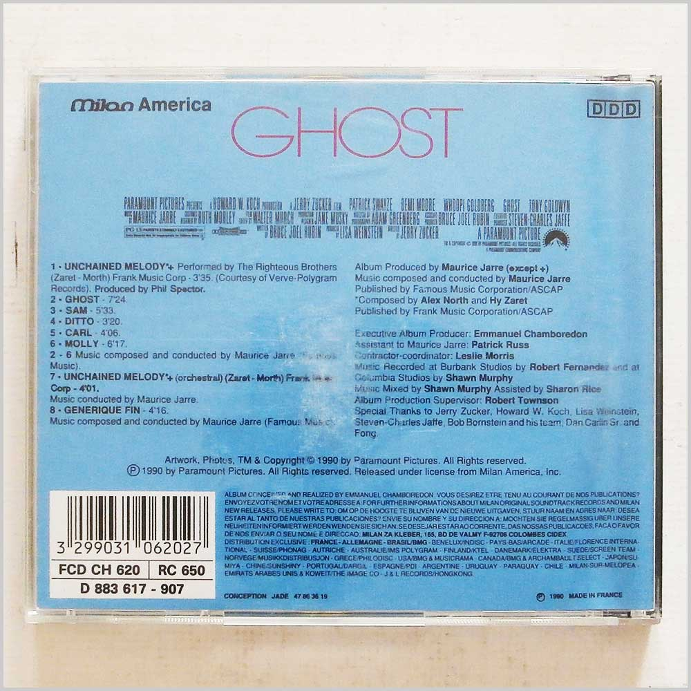 Maurice Jarre - Ghost (3299031062027)