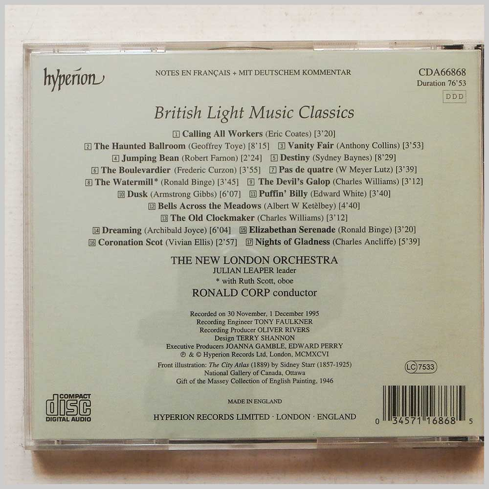 Ronald Corp, The New London Orchestra - British Light Music Classics (34571168685)