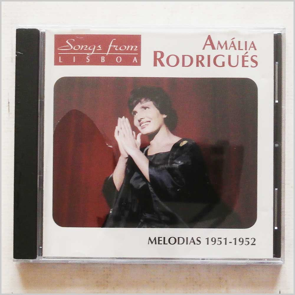 Amalia Rodrigues - Songs From Lisboa: Melodias 1951-1952 (3540139962222)