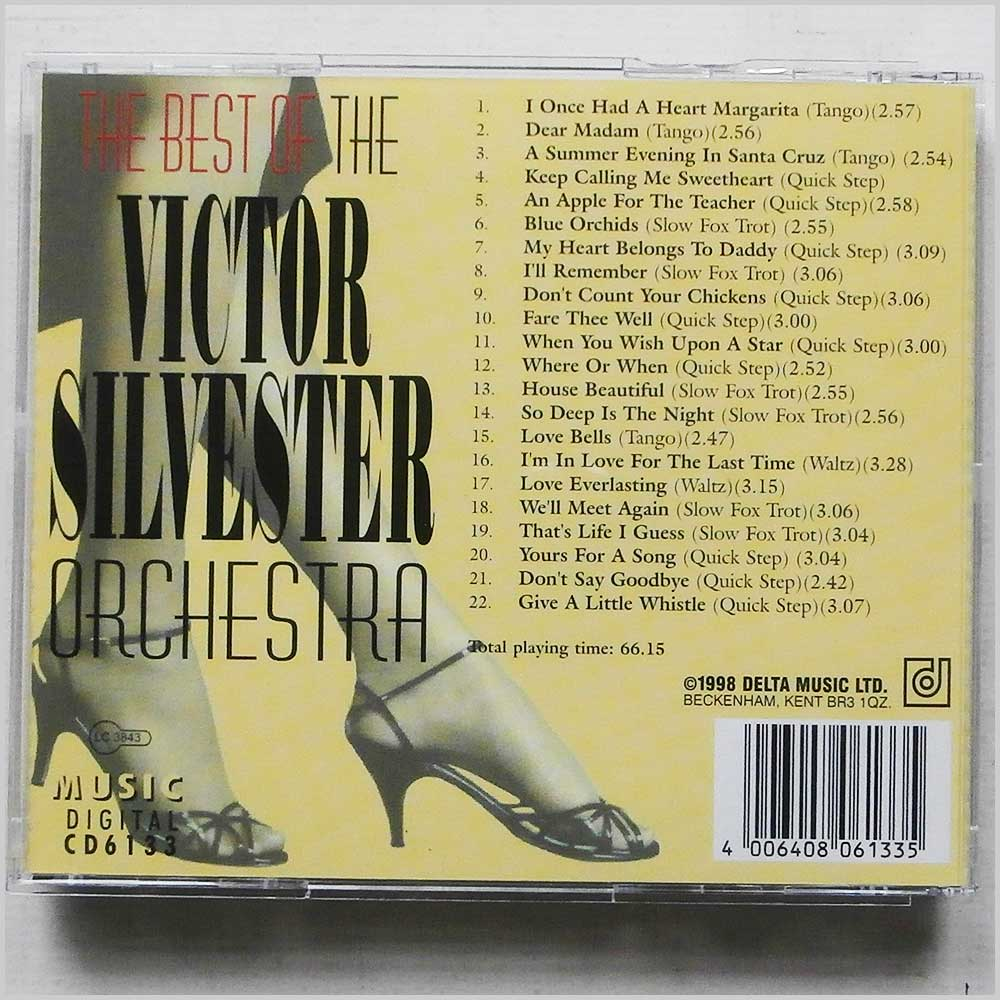 The Victor Silvester Orchestra - 22 Ballroom Favourites The Best Of The Victor Silvester Orchestra (4006408061335)
