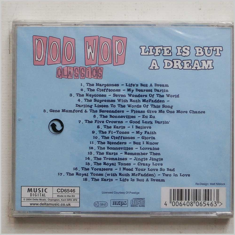 Various - Doo Wop Classics: Life Is But A Dream (4006408065463)