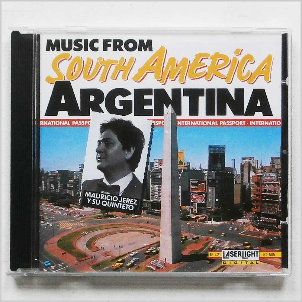 Mauricio Jerez Y Su Quinteto - Music From South America: Argentina (4006408154211)