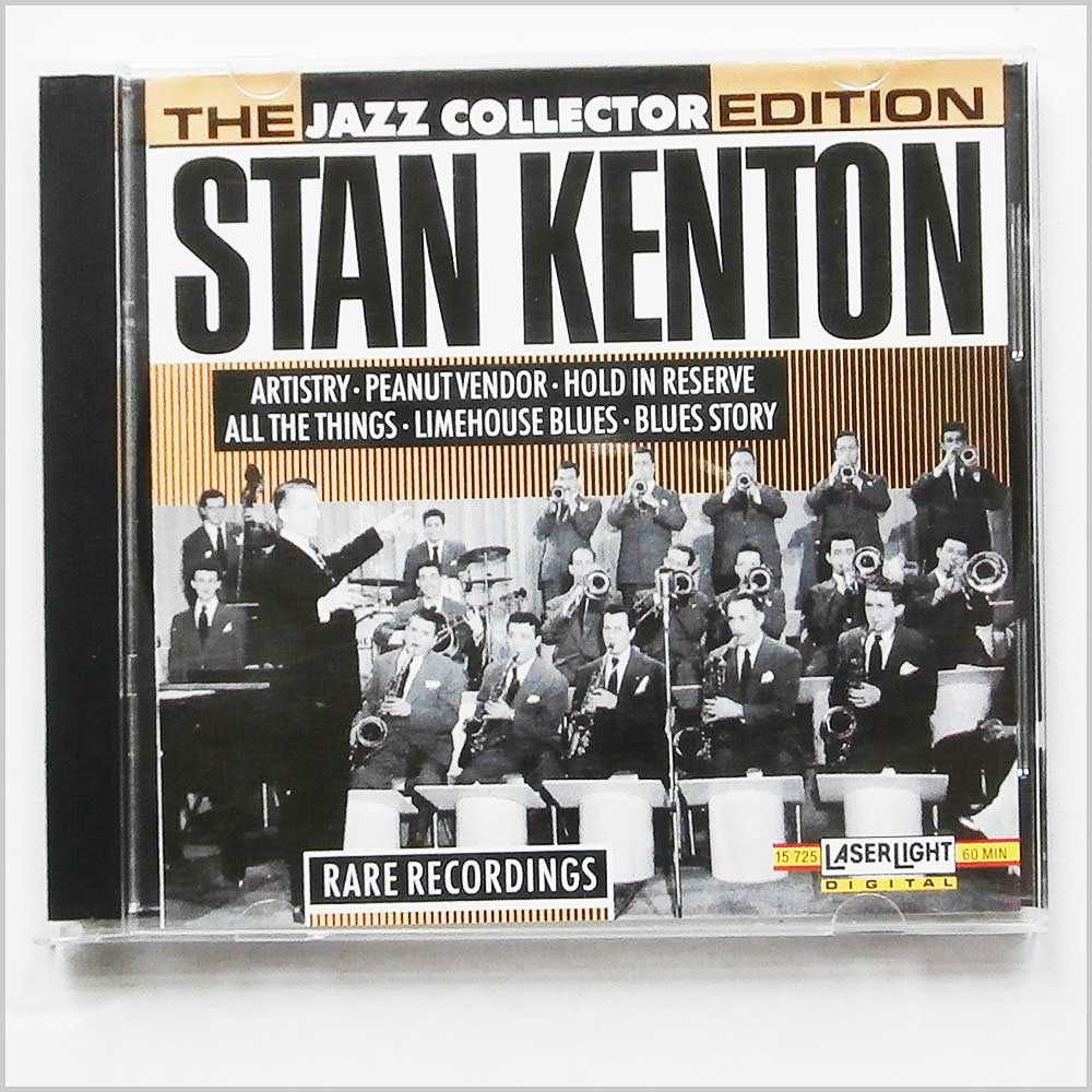 Stan Kenton and his Orchestra - The Jazz Collector Edition: Rare Recordings (4006408157250)