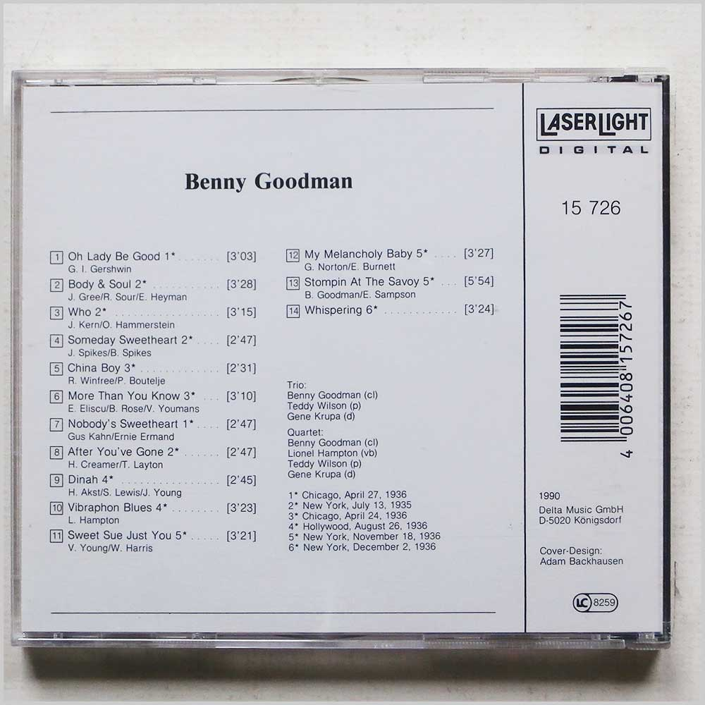 Benny Goodman - The Jazz Collector Edition 1935-1936 (4006408157267)