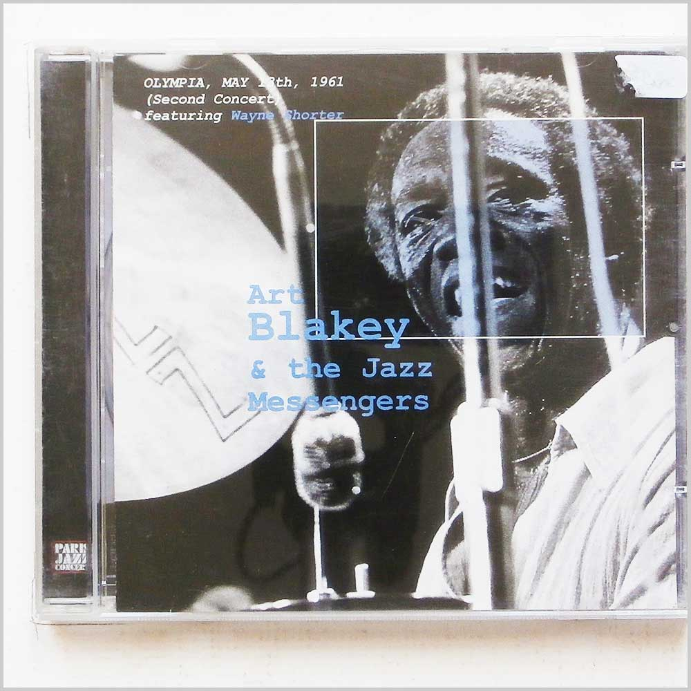 Art Blakey & The Jazz Messengers - Olympia, May 13th 1961 (Second Concert) Featuring Wayne Shorter (4006408174424)