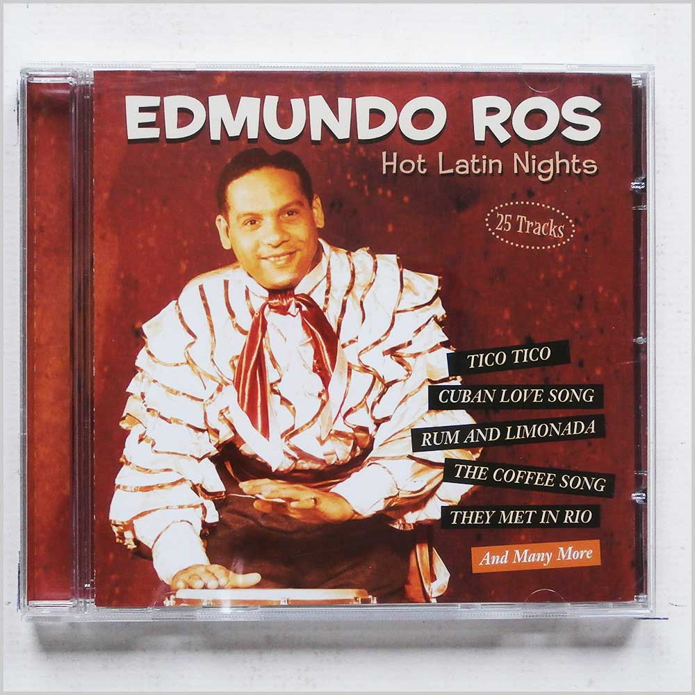 Edmundo Ros - Hot Latin Nights (4006408264446)