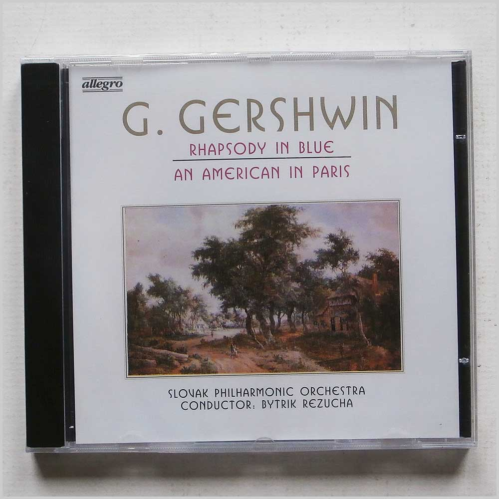 Slovak Philharmonic Orchestra - George Gershwin: Rhapsody in Blue, An American in Paris (4020764210015)