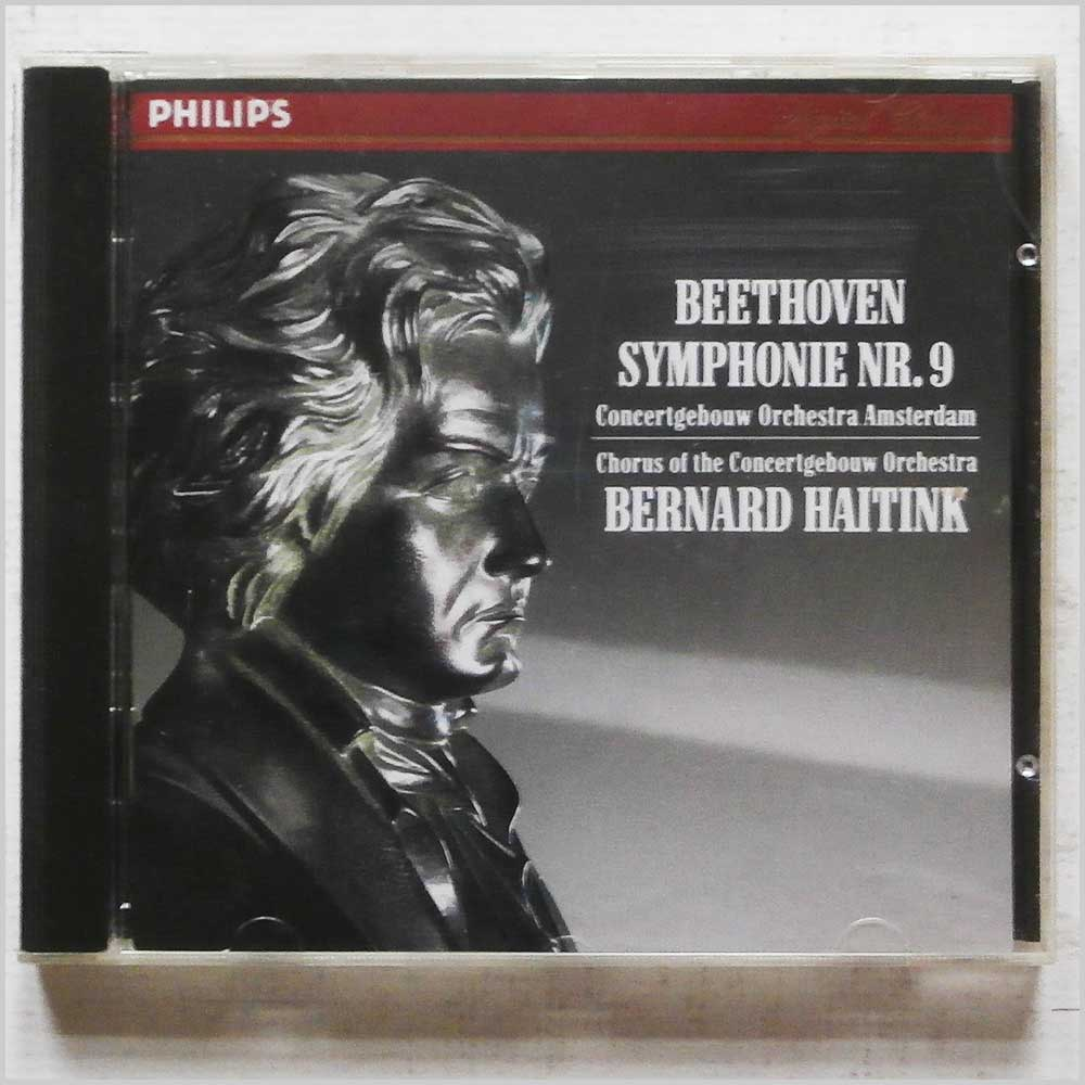 Bernard Haitink, Chorus of the Concertebouw Orchestra - Beethoven: Symphony Nos. 9 (410 036-2)
