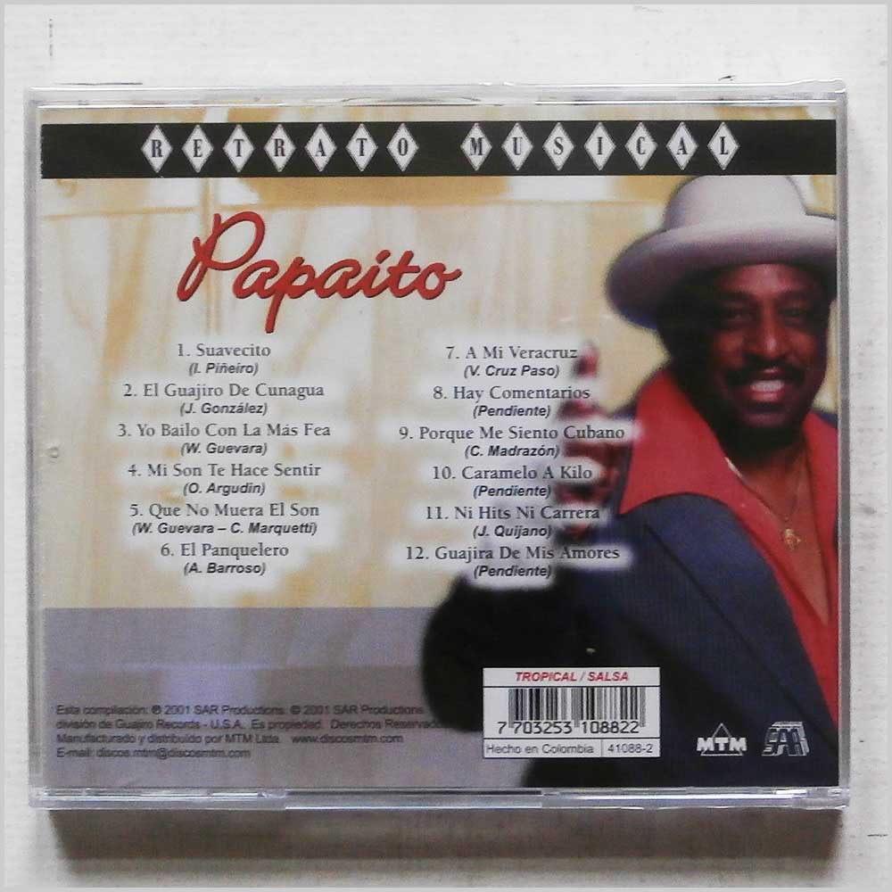 Papaito - Retrato Musical (41088 2)