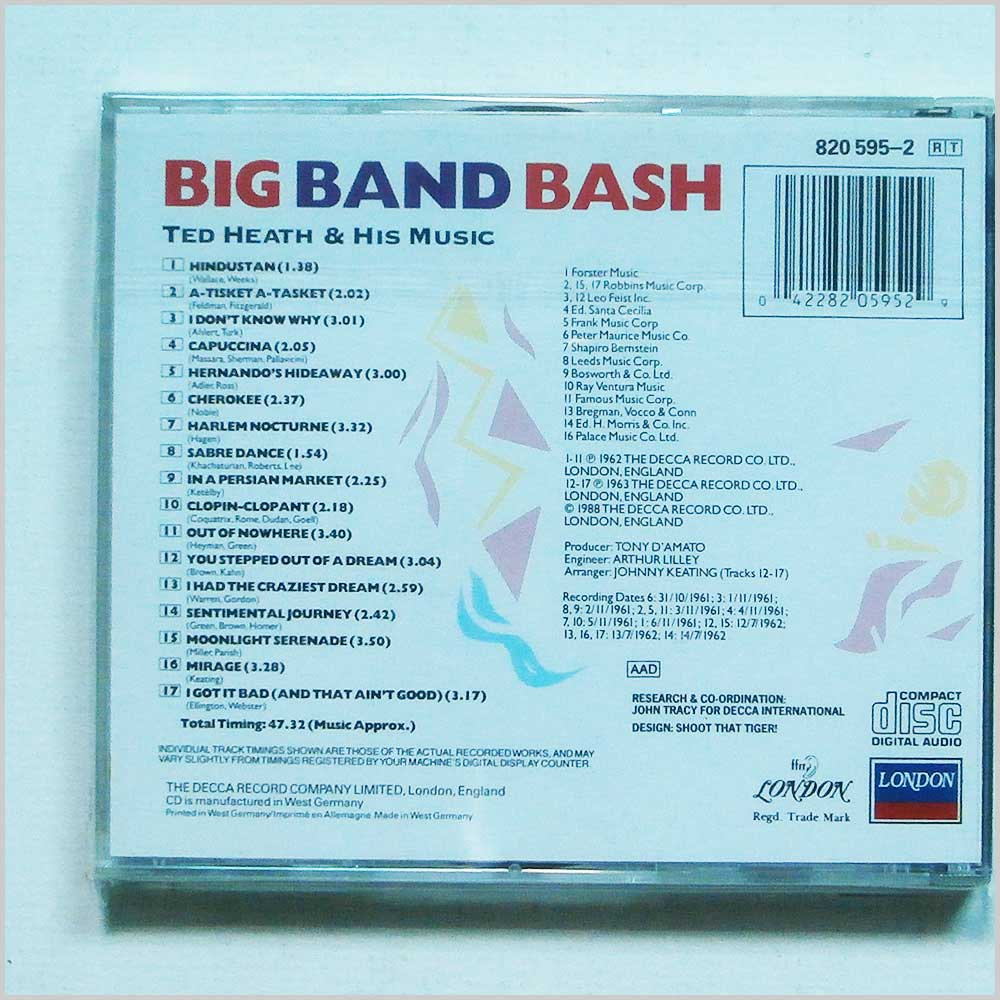 Ted Heath and his Music - Big Band Bash (42282059529)