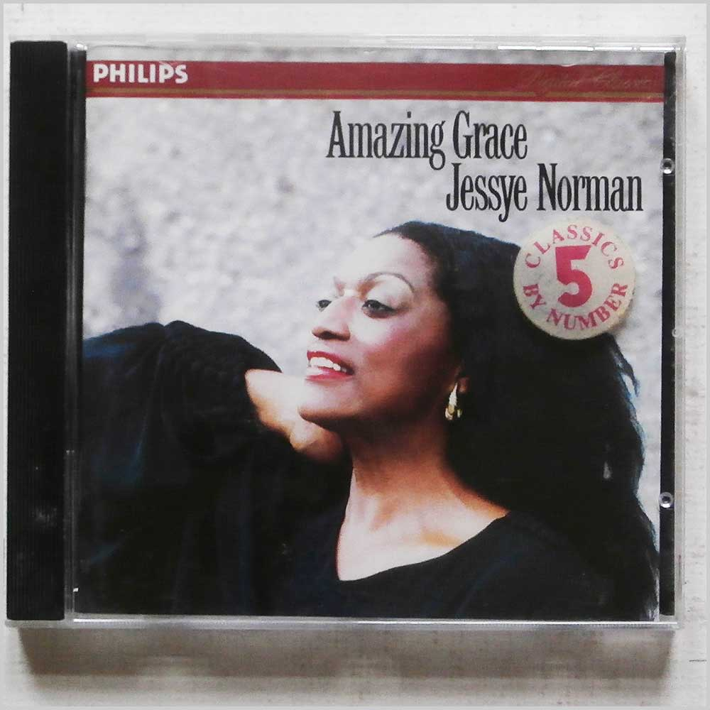 Jessye Norman - Amazing Grace (432 546-2)