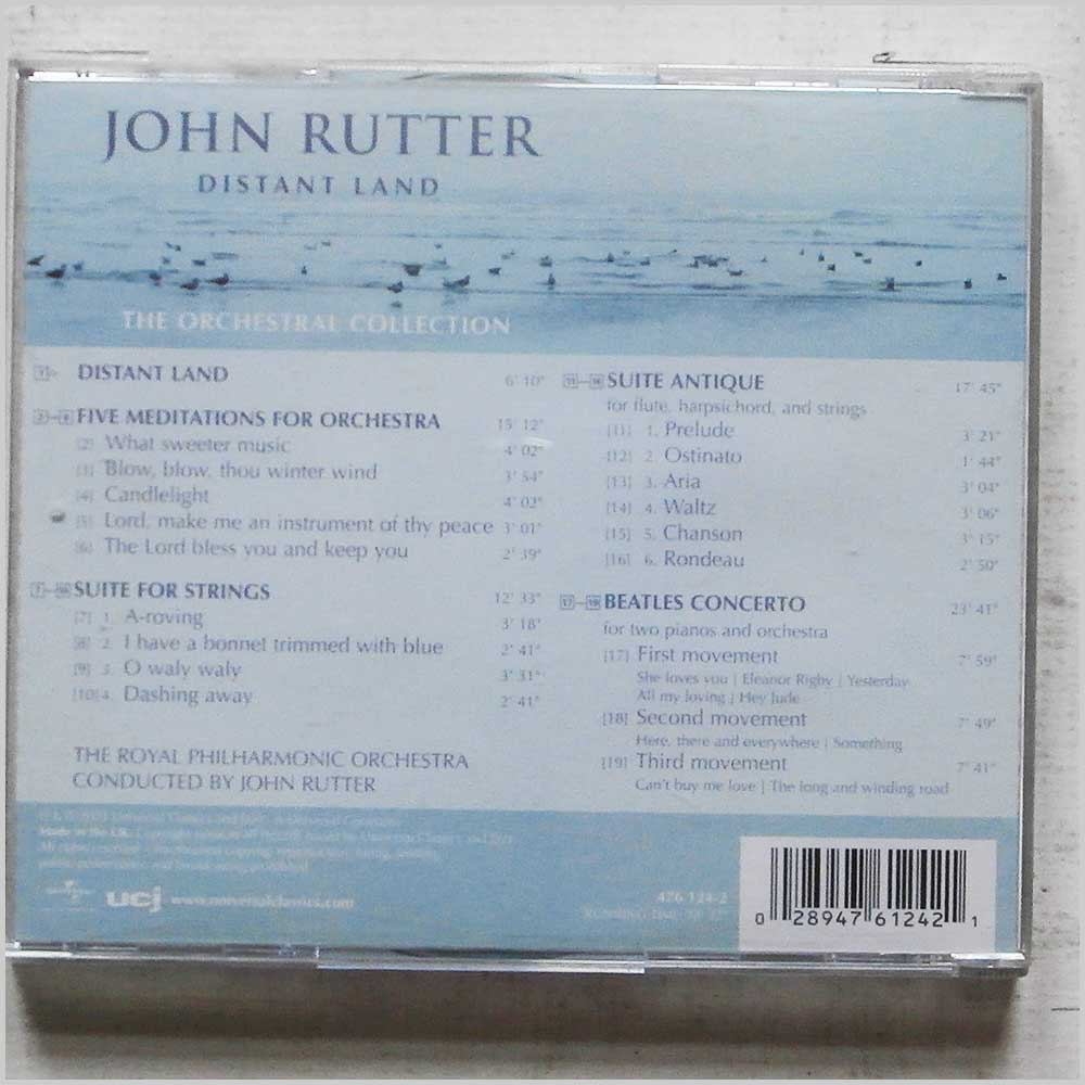 John Rutter, Royal Philharmonic Orchestra - Distant Land (476 124-2)