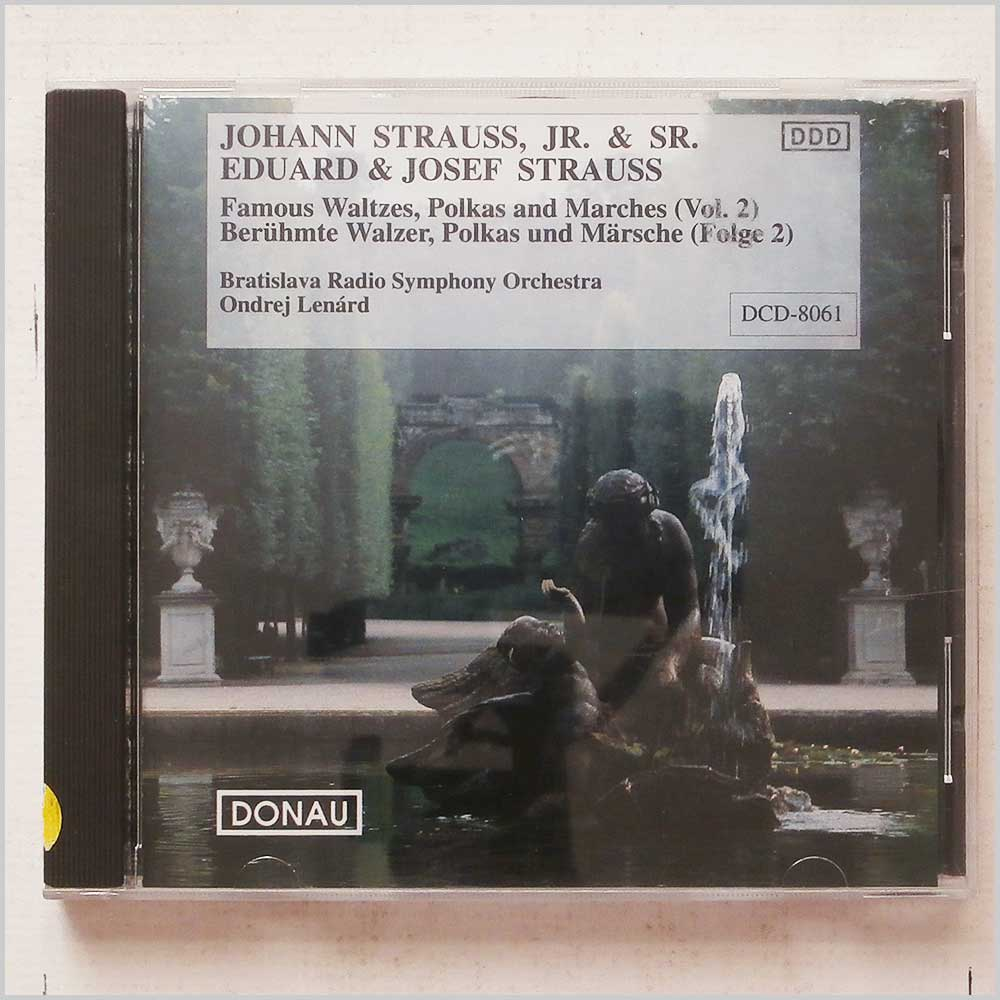 Bratislava Radio Symphony Orchestra - Johann Strauss, Eduard and Josef Strauss: Famous Waltes, Polkas and Marches (4891030080614)