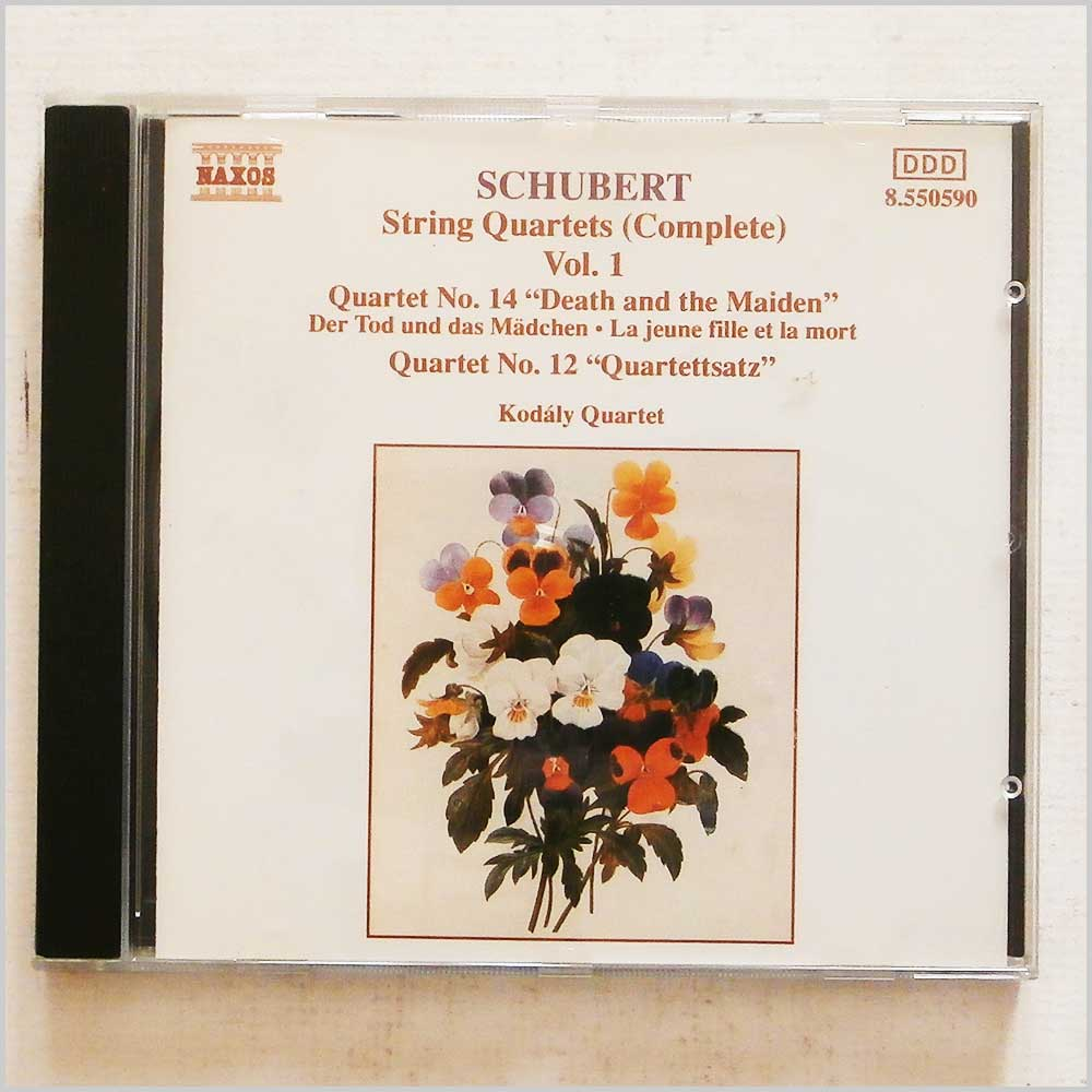 Kodaly Quartet - Schubert: String Quartets (Complete) Vol. 1, Quartets No 12 and 14 (4891030505902)
