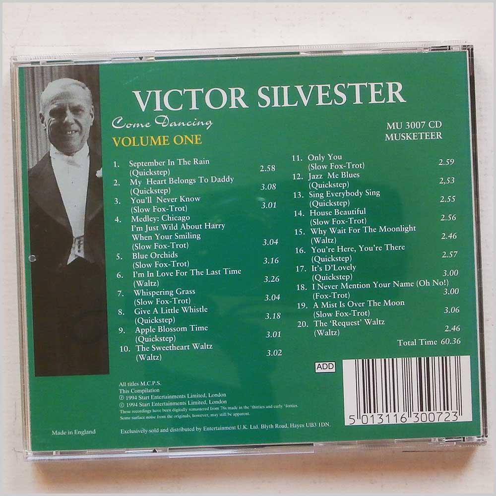 Victor Sylvester - Come Dancing Volume One (5013116300723)