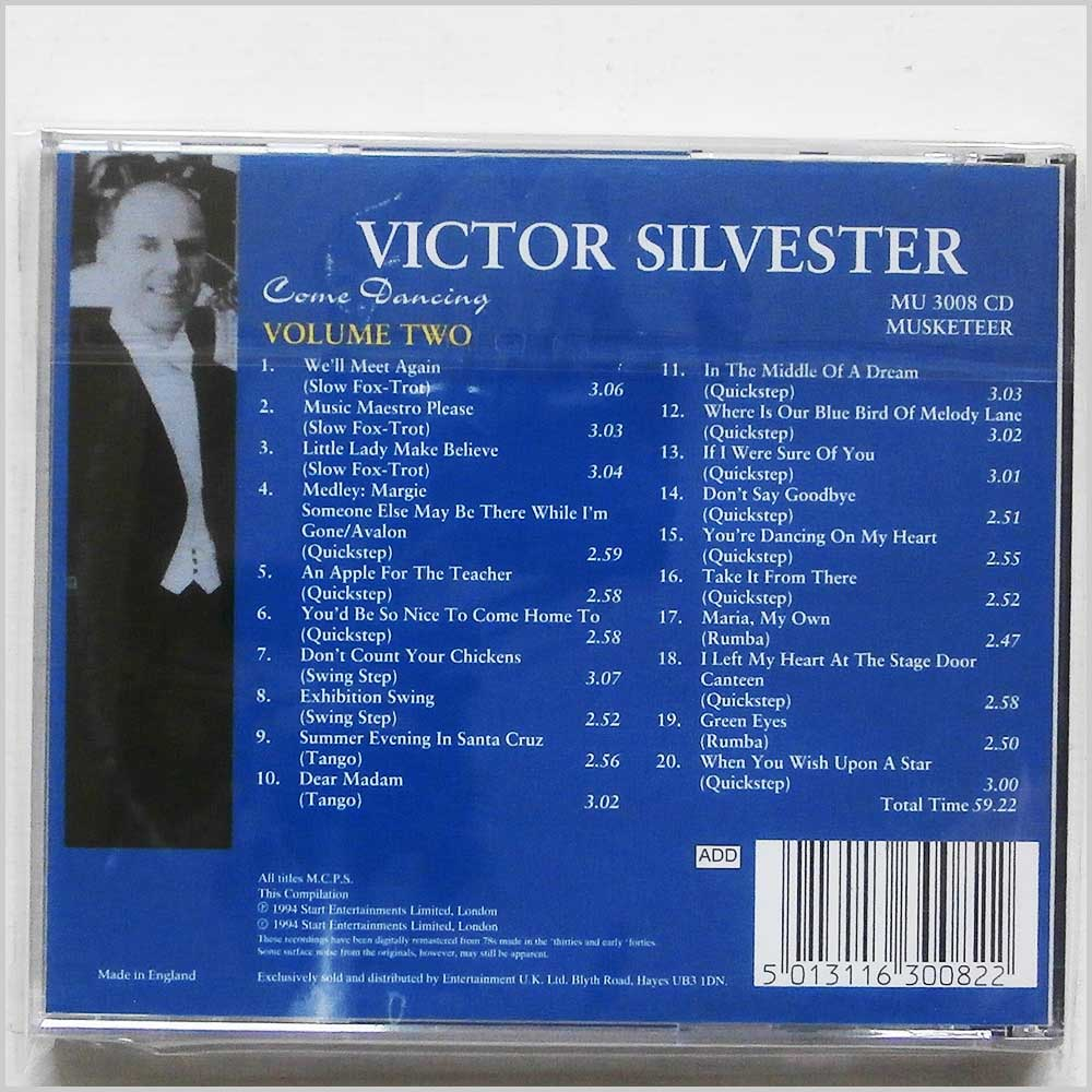 Victor Silvester - Come Dancing Vol. 2 (5013116300822)