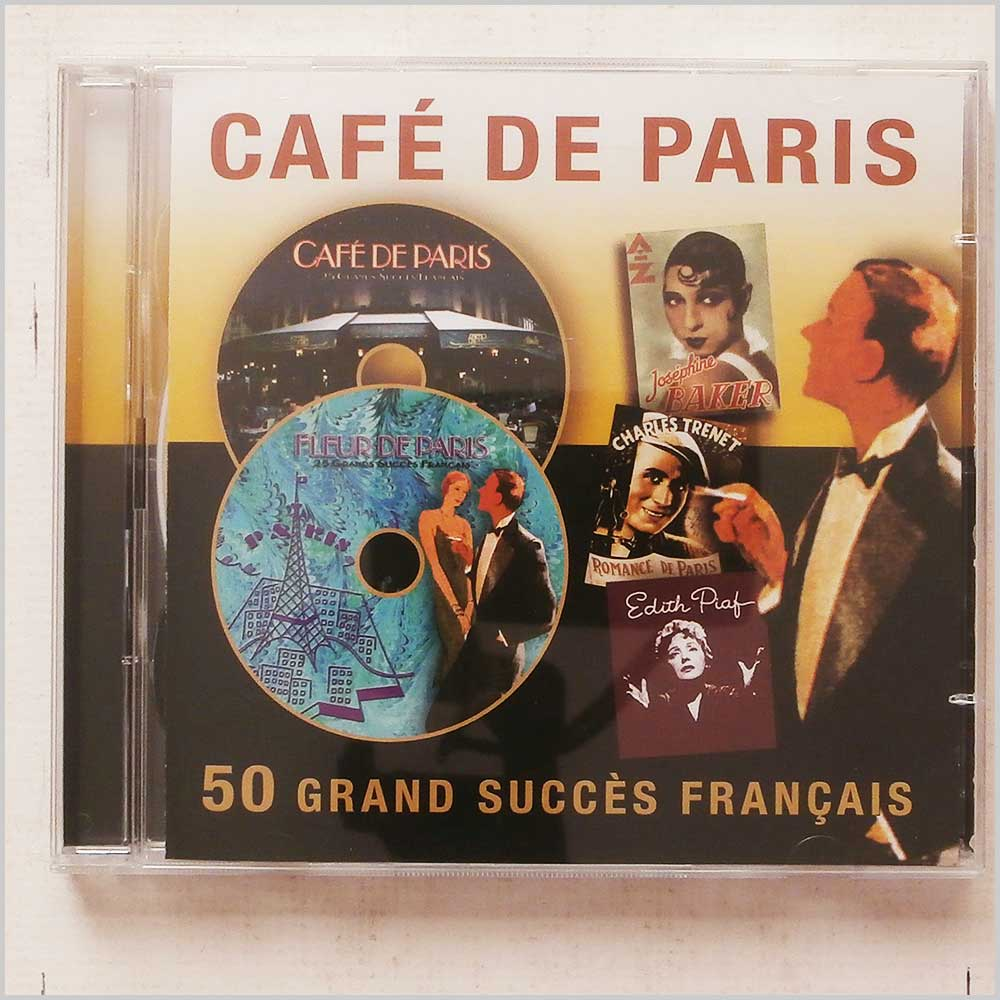 Various - Cafe De Paris: 50 Grand Succes Francais (5014293221221)