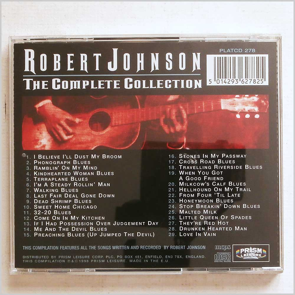 Robert Johnson - The Complete Collection (5014293627825)