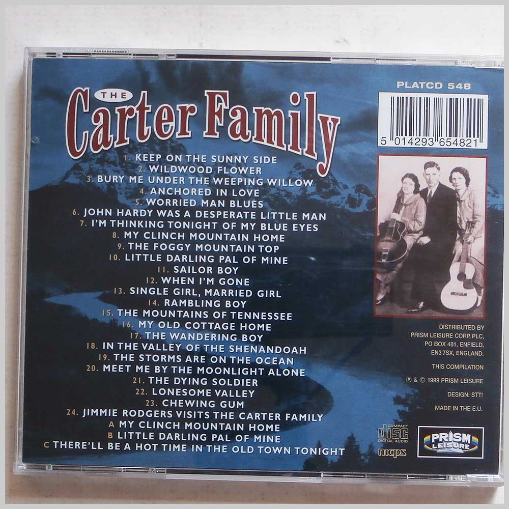 The Carter Family - The Very Best Of The Carter Family (5014293654821)