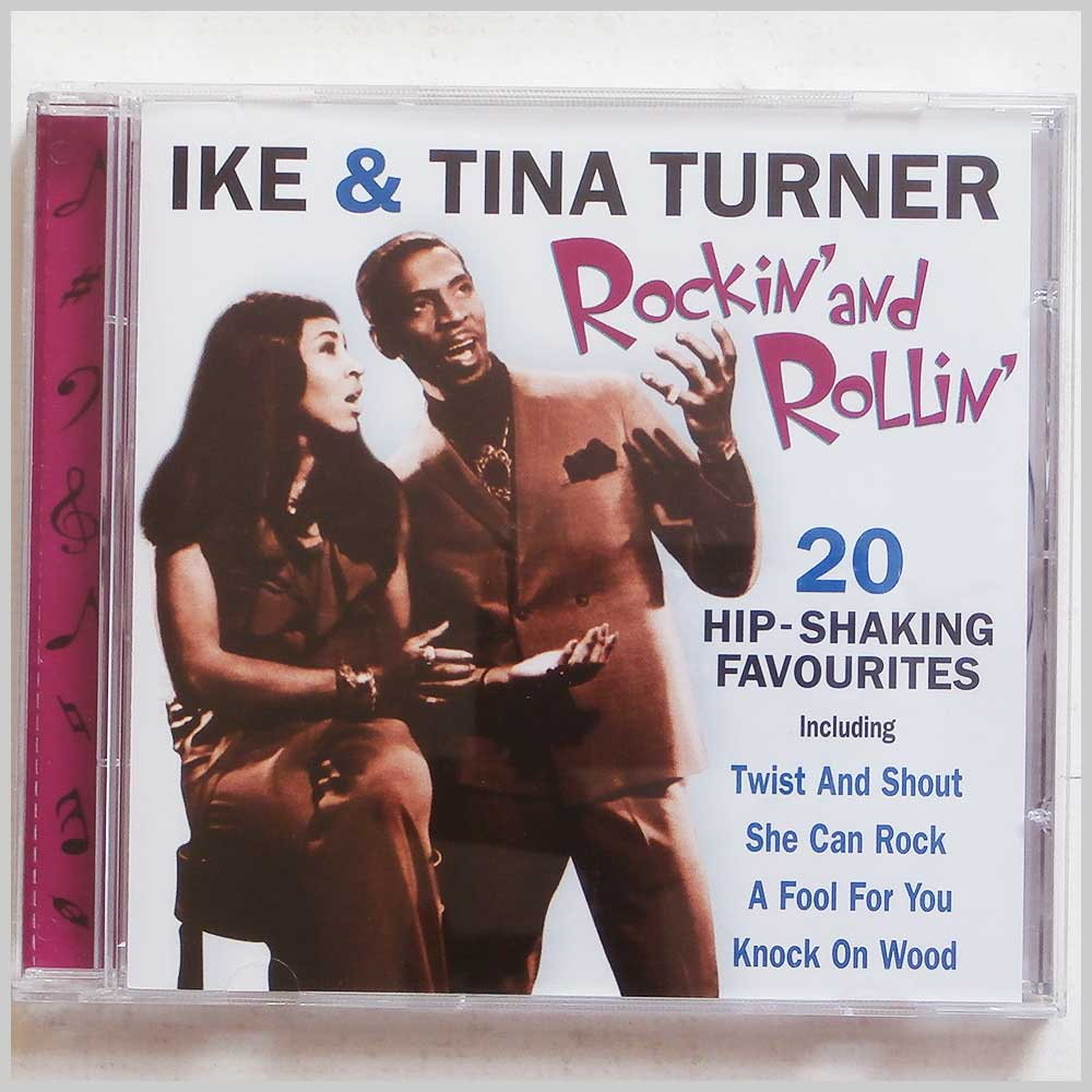 Tina Turner and Ike Turner - Rockin' and Rollin': 20 Hip Shaking Favourites (5014293669627)