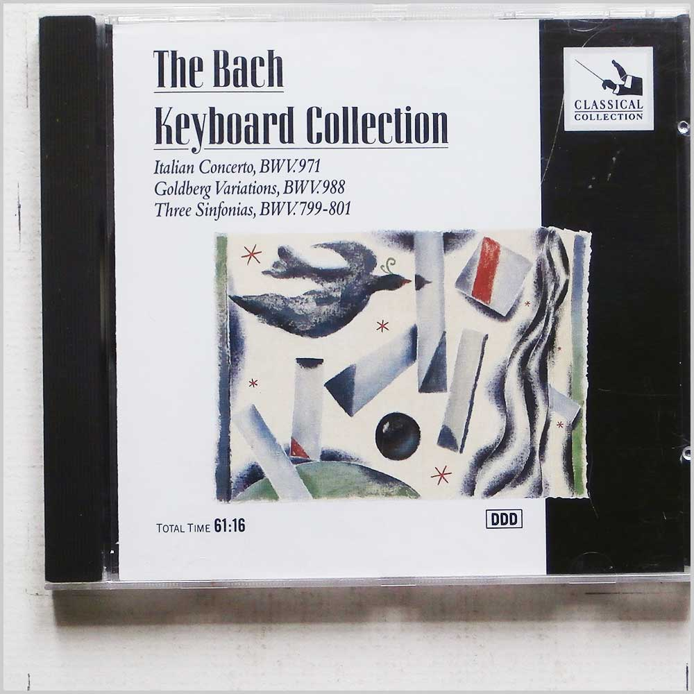 Christiane Jaccotet - The Bach Keyboard Collection: Italian Concerto (5014505002877)