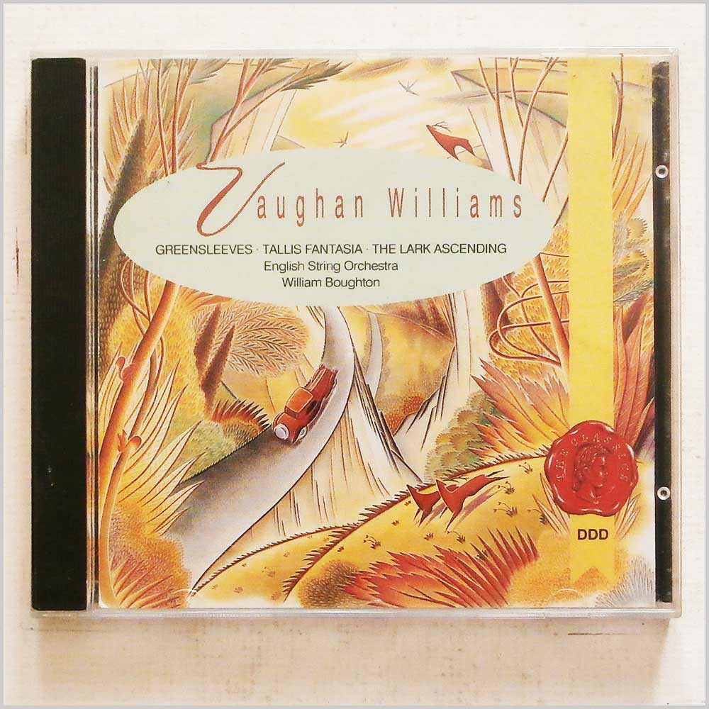 William Boughton, English String Orchestra - Vaughan Williams: Greensleeves, Tallis Fantasia, The Lark Ascending (5014505009012)