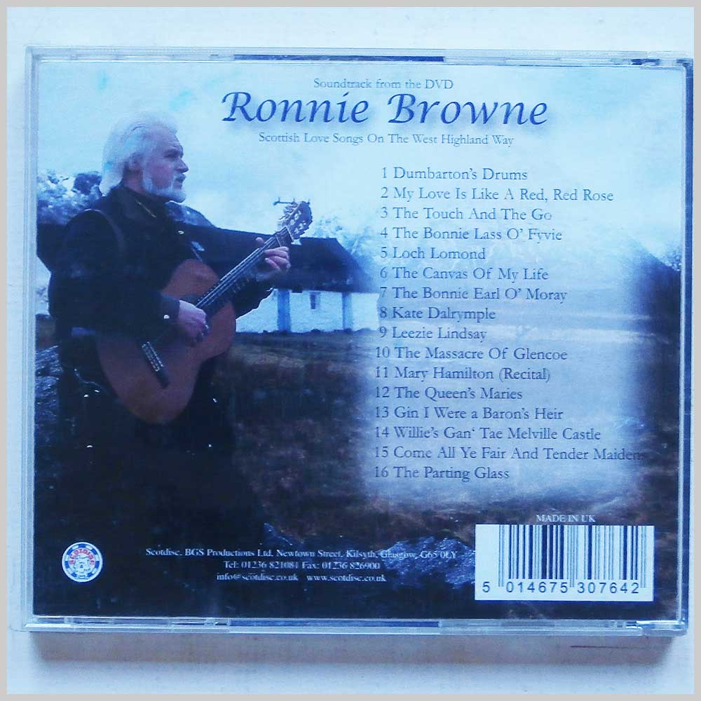 Ronnie Brown - The West Highland Way Song Collection (5014675307642)