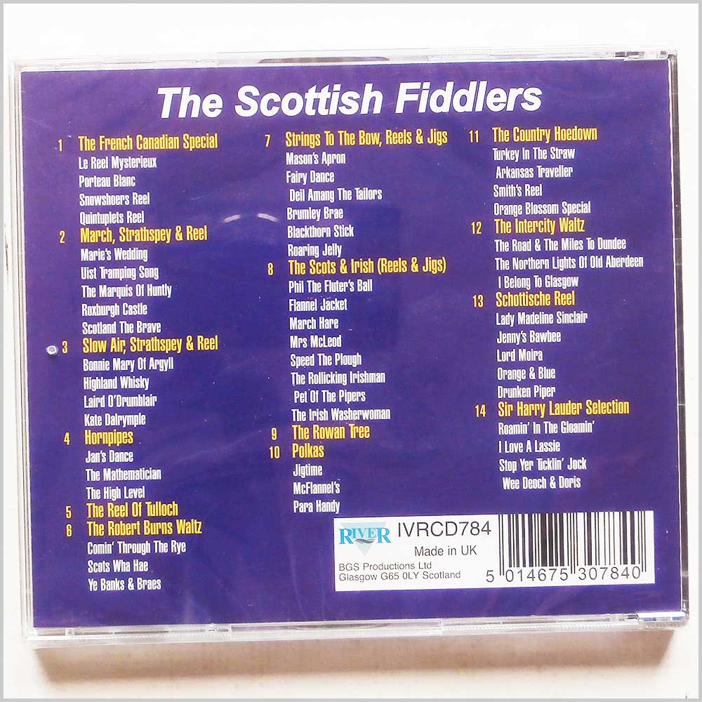 Bill Garden's Highland Fiddle Orchestra - Scottish Fiddlers (5014675307840)