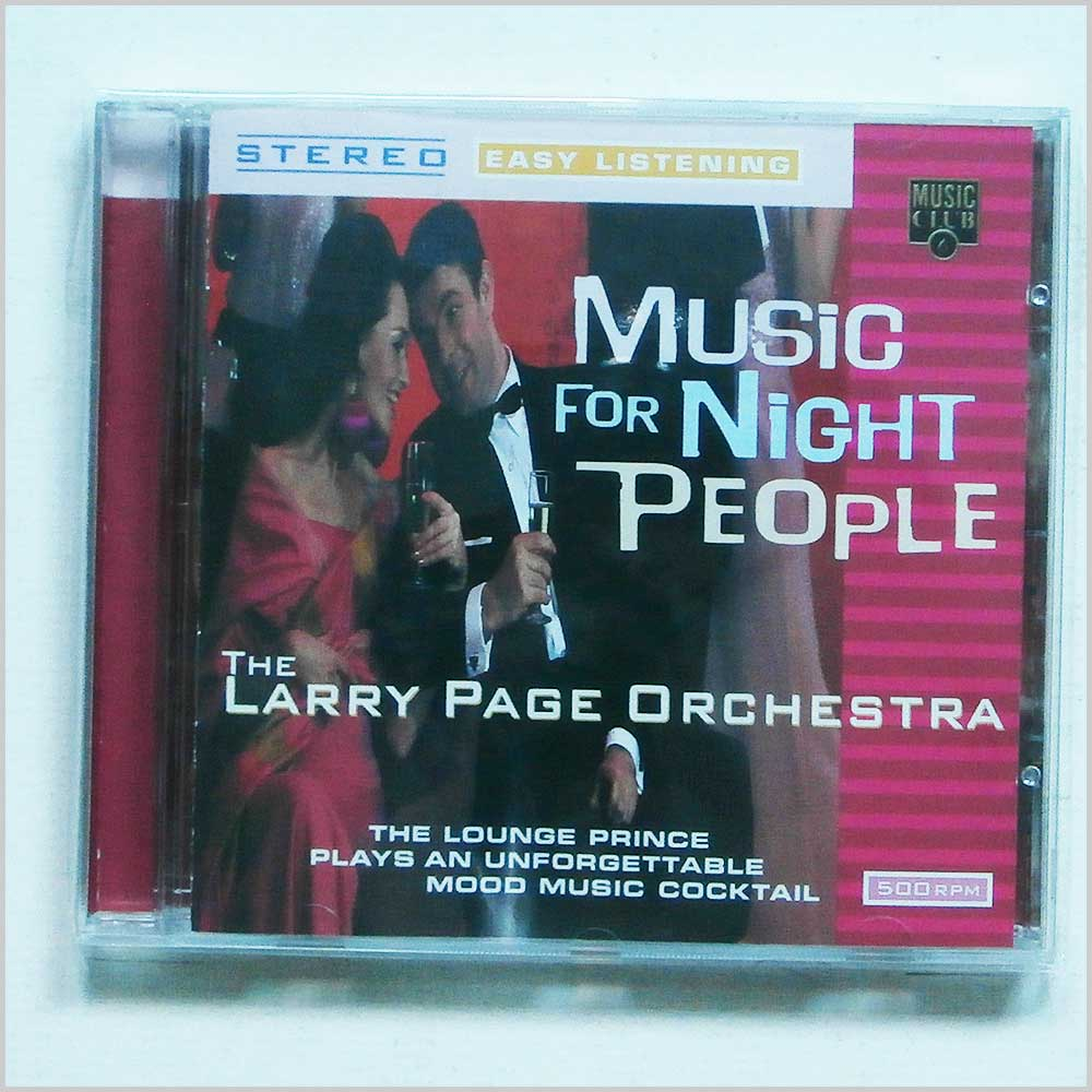 Larry Page Orchestra - Music for Night People (5014797292468)