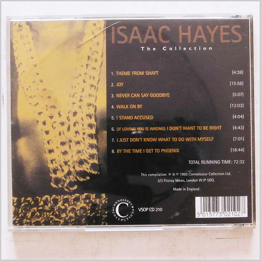 Isaac Hayes - The Collection (5015773021027)